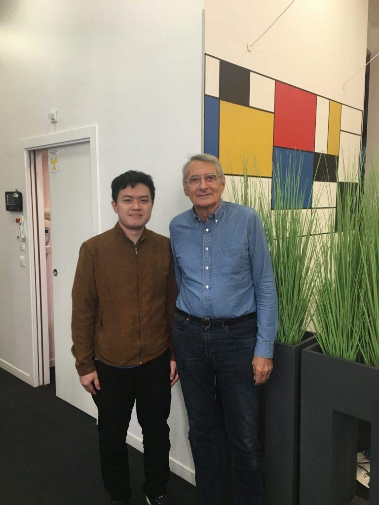 Việt Anh là học trò của Bác sĩ nha khoa Didier Fillion - Số 1 Niềng Răng Mặt Trong Thế Giới